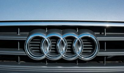AACHEN, GERMANY MARCH, 2017: Audi logo on a car grill. Audi is a German automobile manufacturer that designs, engineers, produces, markets and distributes luxury automobiles- Stock Photo or Stock Video of rcfotostock | RC-Photo-Stock