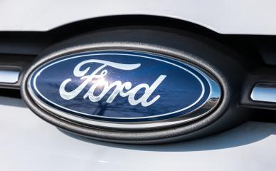 AACHEN, GERMANY MARCH, 2017: Ford Sign Close-Up. The Ford Motor Company is an American multinational automaker. Ford is the second-largest U.S.-based automaker.- Stock Photo or Stock Video of rcfotostock   RC-Photo-Stock