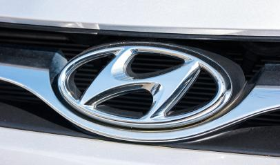 AACHEN, GERMANY MARCH, 2017: Hyundai logo on a car grilll. Hyundai Motor Company is a South Korean multinational automotive manufacturer founded at 1967.- Stock Photo or Stock Video of rcfotostock | RC-Photo-Stock
