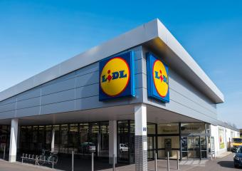 AACHEN, GERMANY MARCH, 2017: LIDL supermarket Store. LIDL is a German global discount supermarket chain, based in Neckarsulm, Baden-Wuerttemberg, Germany.- Stock Photo or Stock Video of rcfotostock | RC-Photo-Stock