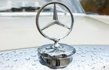 AACHEN, GERMANY MARCH, 2017: Mercedes Benz logo closeup on a car grill. Mercedes-Benz is a German automobile manufacturer. The brand is used for luxury automobiles, buses, coaches and trucks.- Stock Photo or Stock Video of rcfotostock   RC-Photo-Stock