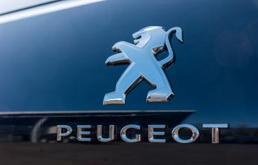 AACHEN, GERMANY MARCH, 2017: Peugeot logo sign on a car. Peugeot is a French cars brand, part of PSA Peugeot Citroen.- Stock Photo or Stock Video of rcfotostock | RC-Photo-Stock