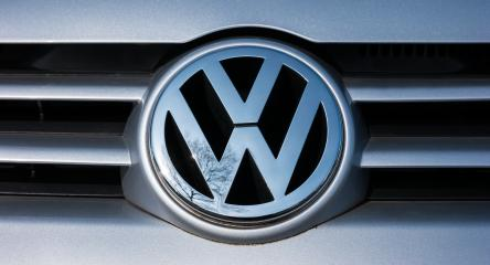 AACHEN, GERMANY MARCH, 2017: Volkswagen VW plate logo on a car. Volkswagen is a famous European car manufacturer company based on Germany.- Stock Photo or Stock Video of rcfotostock | RC-Photo-Stock