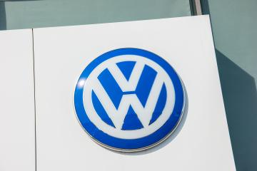 AACHEN, GERMANY MARCH, 2017: Volkswagen VW sign on a store facade. Volkswagen is a famous European car manufacturer company based on Germany.- Stock Photo or Stock Video of rcfotostock | RC-Photo-Stock