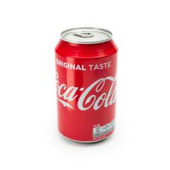 AACHEN, GERMANY OCTOBER, 2017: A can of Coca Cola drink isolated over a plain white background. The drink is produced and manufactured by The Coca-Cola Company.- Stock Photo or Stock Video of rcfotostock | RC-Photo-Stock