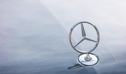 AACHEN, GERMANY OCTOBER, 2017: Mercedes Benz logo close up on a car grill. Mercedes-Benz is a German automobile manufacturer. The brand is used for luxury automobiles, buses, coaches and trucks.- Stock Photo or Stock Video of rcfotostock | RC-Photo-Stock