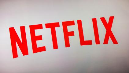AACHEN, GERMANY OCTOBER, 2017: Netflix logo on a TV screen. Netflix is an entertainment company, specializes in and provides streaming media and video on demand online.- Stock Photo or Stock Video of rcfotostock | RC-Photo-Stock