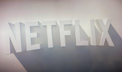 AACHEN, GERMANY OCTOBER, 2017: Netflix logo on a TV screen. Netflix Inc. is an American company founded specializes in and provides streaming media and video on demand online and DVD by mail.- Stock Photo or Stock Video of rcfotostock | RC-Photo-Stock