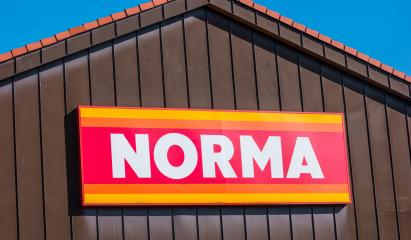 AACHEN, GERMANY OCTOBER, 2017: Norma discount supermarket Sign on a Store. Norma is a food discount store with plus 1,400 stores in Europe. Retail concept is a narrow product line at low prices.- Stock Photo or Stock Video of rcfotostock | RC-Photo-Stock