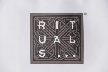 AACHEN, GERMANY OCTOBER, 2017: Rituals logo on a paper bag. Rituals is a company for Cosmetics.- Stock Photo or Stock Video of rcfotostock | RC-Photo-Stock
