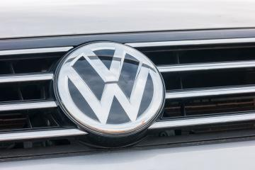 AACHEN, GERMANY OCTOBER, 2017: Volkswagen VW logo on a silver car. Volkswagen is a famous European car manufacturer company based on Germany.- Stock Photo or Stock Video of rcfotostock | RC-Photo-Stock