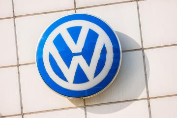 AACHEN, GERMANY OCTOBER, 2017: Volkswagen VW sign on a store facade. Volkswagen is a famous European car manufacturer company based on Germany.- Stock Photo or Stock Video of rcfotostock | RC-Photo-Stock
