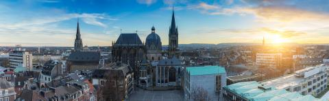 Aachen Panorama : Stock Photo or Stock Video Download rcfotostock photos, images and assets rcfotostock   RC-Photo-Stock.: