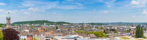 Aachen panorama in summer - Stock Photo or Stock Video of rcfotostock   RC-Photo-Stock