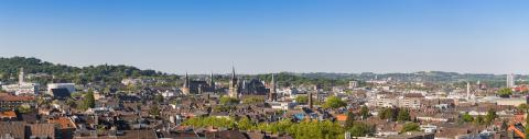 Aachen skyline panorama- Stock Photo or Stock Video of rcfotostock | RC-Photo-Stock