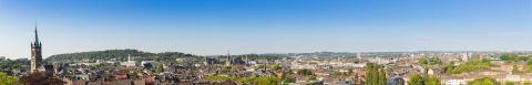 Aachen skyline panorama at summer- Stock Photo or Stock Video of rcfotostock | RC-Photo-Stock