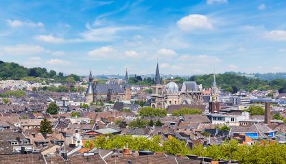 Aachen with cathedral and town hall - Stock Photo or Stock Video of rcfotostock   RC-Photo-Stock