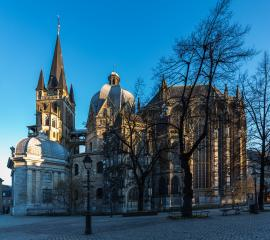 aachener cathedral in the morning light : Stock Photo or Stock Video Download rcfotostock photos, images and assets rcfotostock | RC-Photo-Stock.: