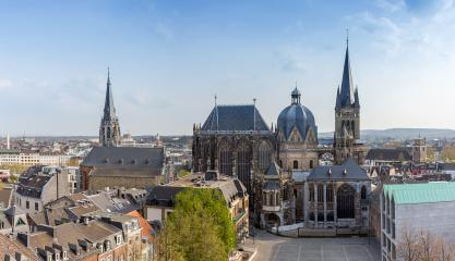 Aachener Dom Panorama : Stock Photo or Stock Video Download rcfotostock photos, images and assets rcfotostock | RC-Photo-Stock.:
