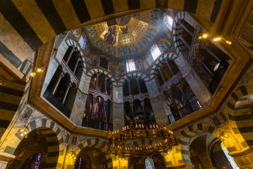 Aachener Münster at the Cathedral of Aachen- Stock Photo or Stock Video of rcfotostock | RC-Photo-Stock