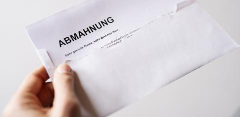 Abmahnung - Stock Photo or Stock Video of rcfotostock | RC-Photo-Stock