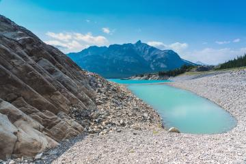 abraham lake at alberta canada : Stock Photo or Stock Video Download rcfotostock photos, images and assets rcfotostock | RC-Photo-Stock.: