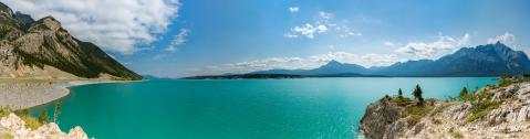 abraham lake panorama at alberta canada : Stock Photo or Stock Video Download rcfotostock photos, images and assets rcfotostock | RC-Photo-Stock.: