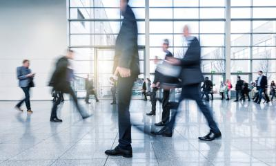 abstakt image of blurred Business people walking- Stock Photo or Stock Video of rcfotostock | RC-Photo-Stock