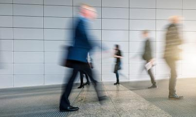 abstakt image of Business people in the lobby of a trade fair : Stock Photo or Stock Video Download rcfotostock photos, images and assets rcfotostock | RC-Photo-Stock.: