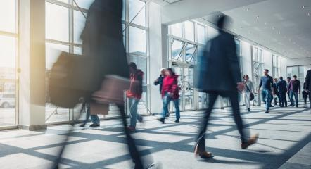 abstakt image of Business people walking : Stock Photo or Stock Video Download rcfotostock photos, images and assets rcfotostock | RC-Photo-Stock.:
