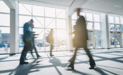 abstakt image of Business people walking in a floor- Stock Photo or Stock Video of rcfotostock | RC-Photo-Stock