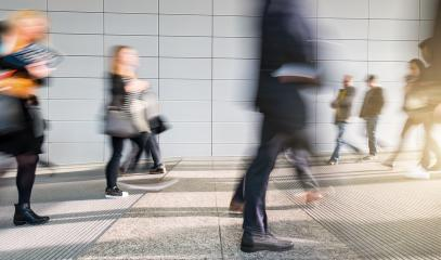 abstakt image of people in the lobby of a modern business center - Stock Photo or Stock Video of rcfotostock | RC-Photo-Stock