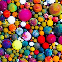 Abstract Acrylic oil ink color balls : Stock Photo or Stock Video Download rcfotostock photos, images and assets rcfotostock   RC-Photo-Stock.: