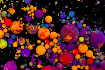 Abstract artistic color balls- Stock Photo or Stock Video of rcfotostock | RC-Photo-Stock