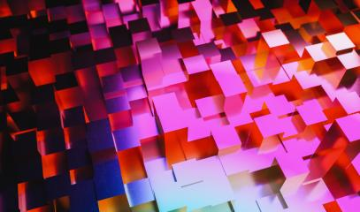 Abstract background colorful rainbow cubes grid, gaming, party an business concept image- Stock Photo or Stock Video of rcfotostock | RC-Photo-Stock