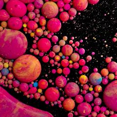 Abstract background, oil paint drops- Stock Photo or Stock Video of rcfotostock | RC-Photo-Stock