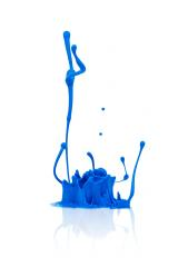 abstract blue paint splashing- Stock Photo or Stock Video of rcfotostock | RC-Photo-Stock