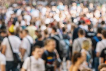 Abstract blur and defocused crowd of people- Stock Photo or Stock Video of rcfotostock | RC-Photo-Stock