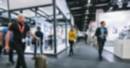 Abstract blurred people in exhibition hall event background usage : Stock Photo or Stock Video Download rcfotostock photos, images and assets rcfotostock | RC-Photo-Stock.: