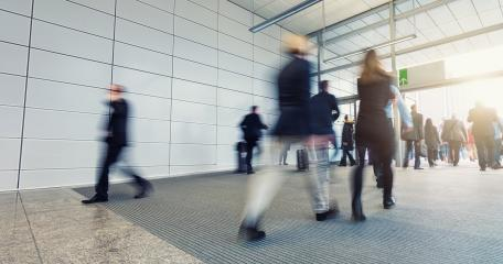 Abstract Business People Walking- Stock Photo or Stock Video of rcfotostock | RC-Photo-Stock