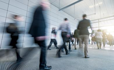 Abstract Business people walking in the office corridor- Stock Photo or Stock Video of rcfotostock | RC-Photo-Stock
