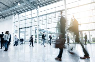 Abstract Business People Walking motion blurred- Stock Photo or Stock Video of rcfotostock | RC-Photo-Stock