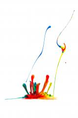 abstract Colorful paint splash- Stock Photo or Stock Video of rcfotostock | RC-Photo-Stock