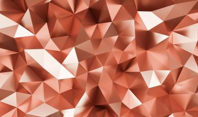 abstract copper crystal low poly background, luxery copper metallic texture,  panorama, wide panoramic polygonal wallpaper - 3D rendering - Illustration- Stock Photo or Stock Video of rcfotostock | RC-Photo-Stock