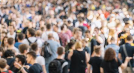 Abstract defocused crowd of people : Stock Photo or Stock Video Download rcfotostock photos, images and assets rcfotostock | RC-Photo-Stock.: