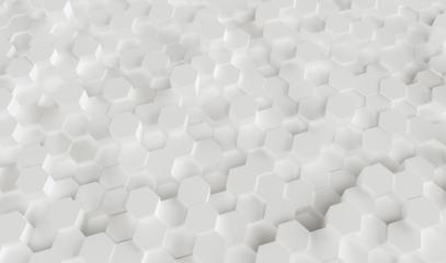 Abstract. Embossed Hexagon , honeycomb white Background ,light and shadow - 3D rendering - Illustration - Stock Photo or Stock Video of rcfotostock   RC-Photo-Stock