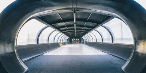 Abstract Futuristic dark corridor tunnel with light window background : Stock Photo or Stock Video Download rcfotostock photos, images and assets rcfotostock | RC-Photo-Stock.:
