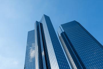 Abstract futuristic modern skyscrapers- Stock Photo or Stock Video of rcfotostock | RC-Photo-Stock