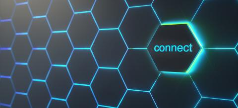 Abstract futuristic surface hexagon pattern with light rays - Stock Photo or Stock Video of rcfotostock | RC-Photo-Stock