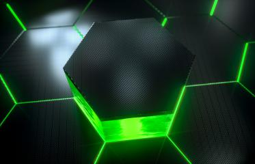Abstract futuristic surface hexagon pattern with light rays- Stock Photo or Stock Video of rcfotostock   RC-Photo-Stock